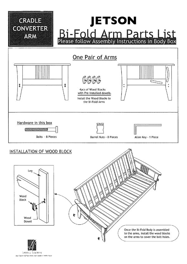 Wooden Futon Bed Assembly Instructions Wooden Designs