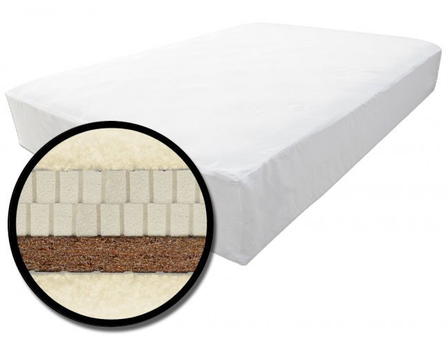 Cocosupport Latex Chemical Free Futon Mattress