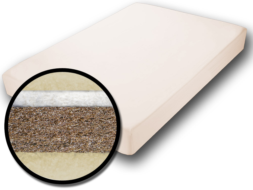 The Futon Shop Cocomax Chemical Free Coconut Bed Mattress Twin