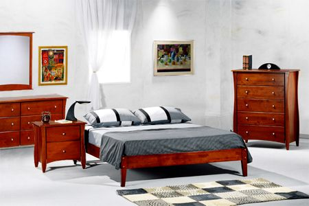 Bedroom Furniture Sets Simple Cherry Bedroom Suite The Futon Shop