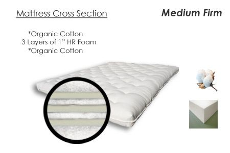 Luxurious Organic Cotton Couch Futon