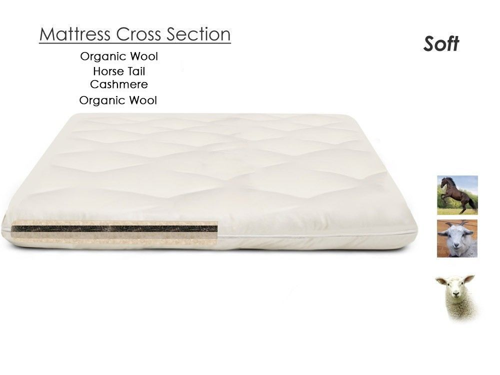 Horsetail Mattress Topper Cashmere