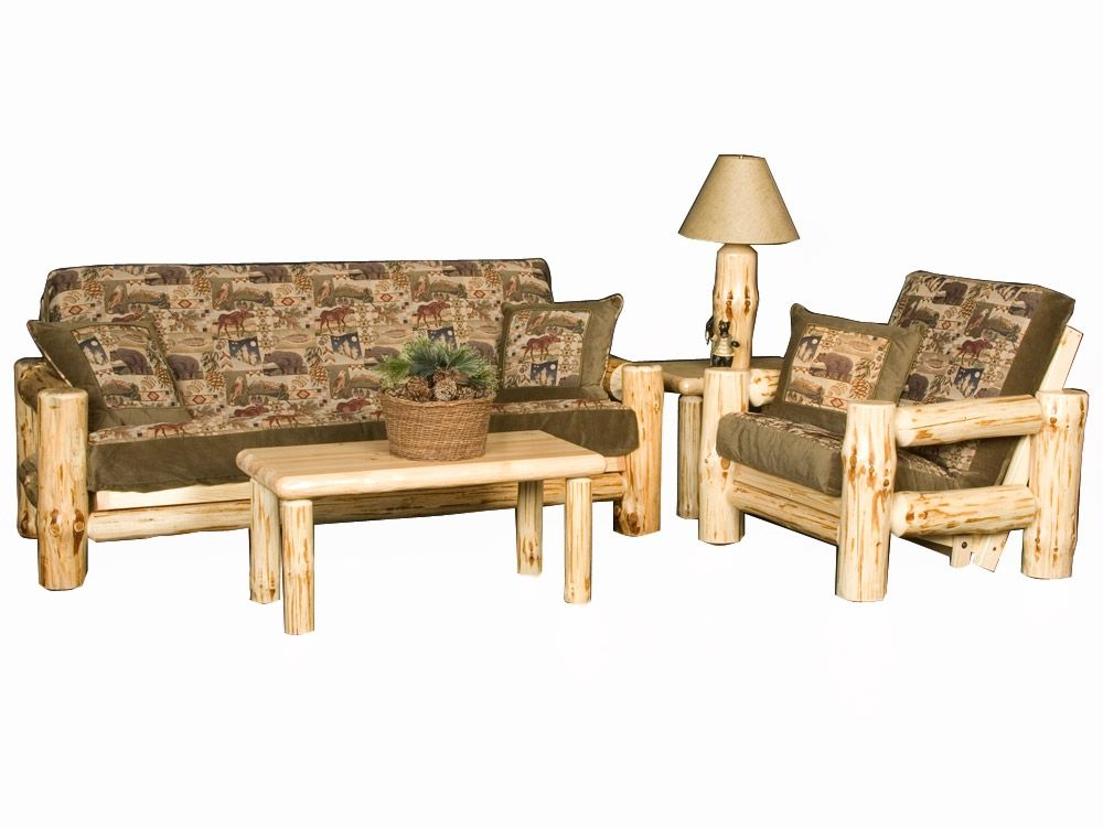Wilderness Rustic Log Futon Frame