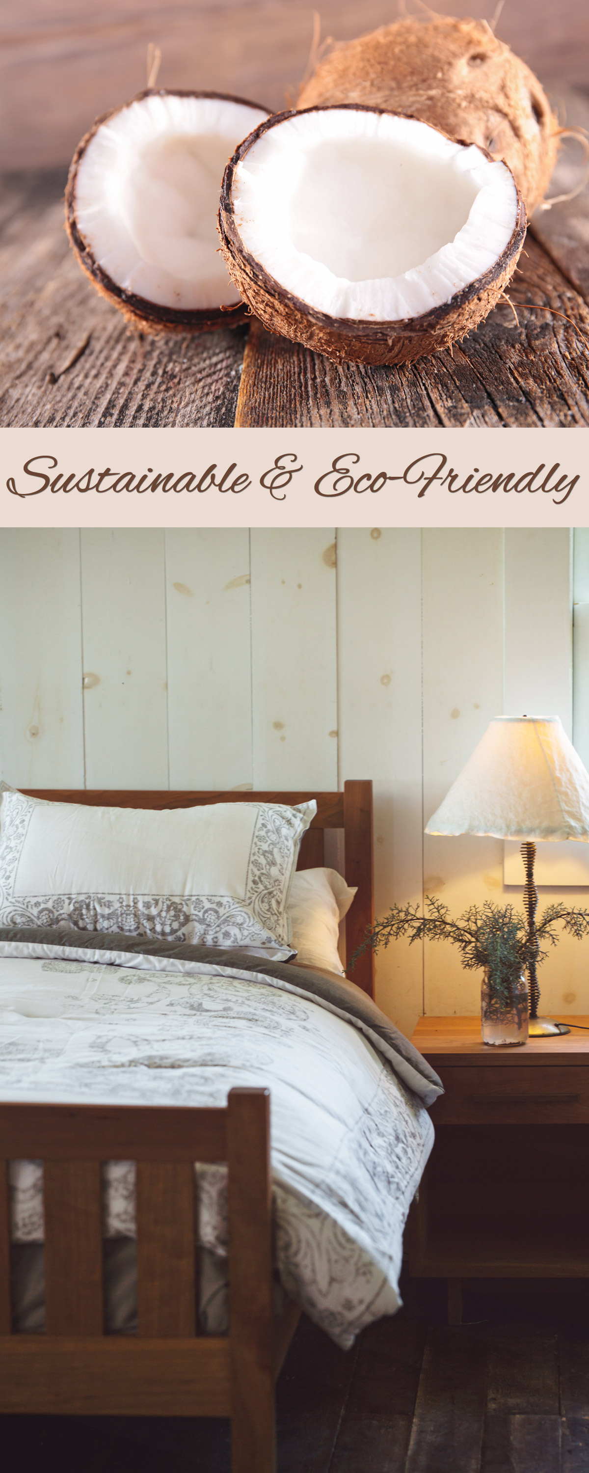 Coconut Fiber Mattress made exclusively by The Futon Shop - Premier Toxic Free Mattress