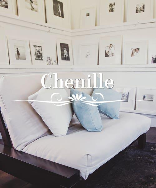 Chenille Futon Slip Covers