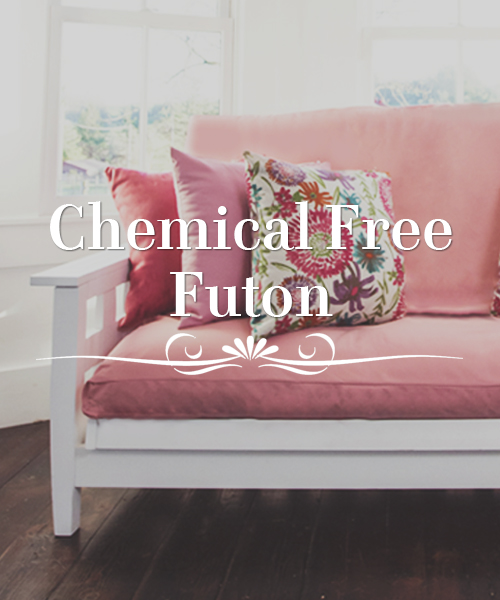 Free Shipping Chemical Free Futon Sets