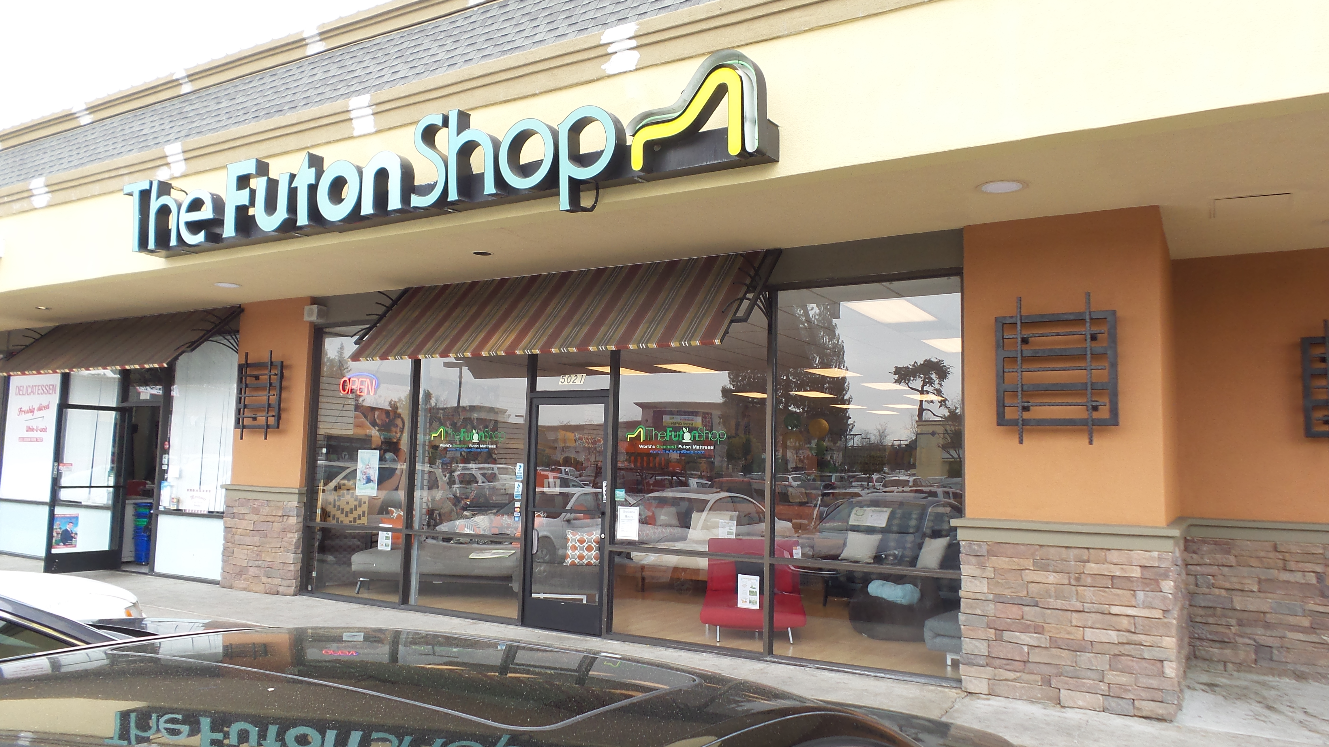 Visit The Futon Shop Locations in California!