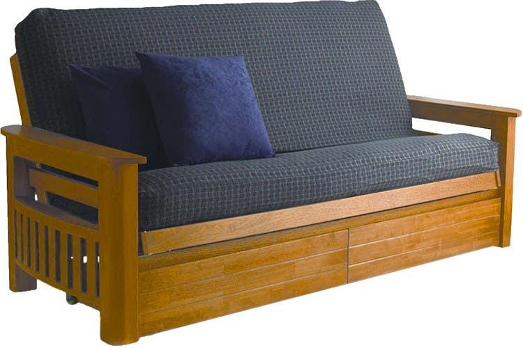 oak futon frame arizona oak futon frame shipping futons to idaho   futon sofa beds delivered to idaho      rh   thefutonshop