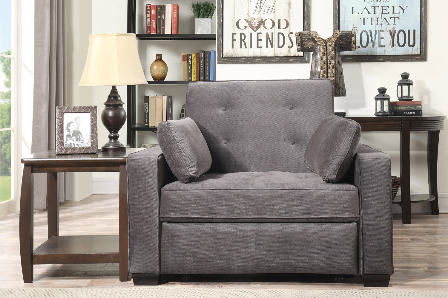 Augustine Space Saving Modern Sofa Bed