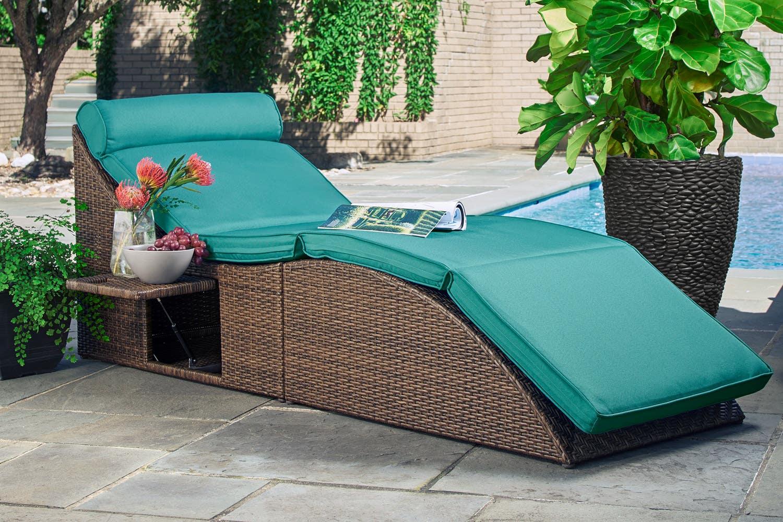 Bed Lounger. 5 Feet Bean Bag Black Lounge Chair Seat Bed Lounge Floor Pillow. Beach Camping ...