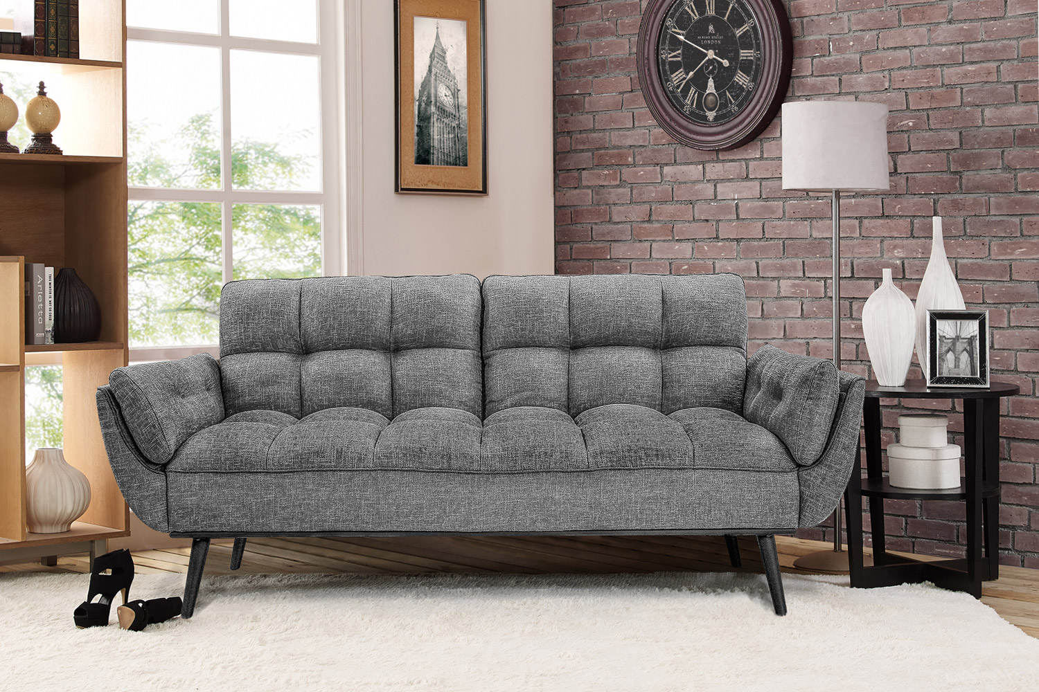 Candice Sofa Bed Lounger Futon