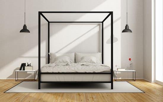 Canopy Platform Bed