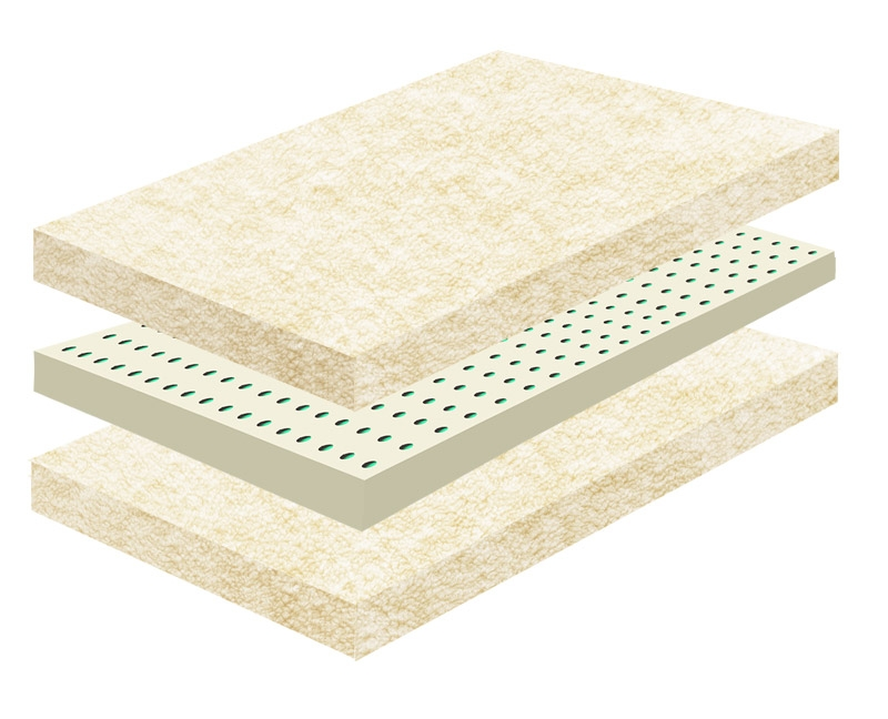 latex Wool Shikibuton Futon Mattress