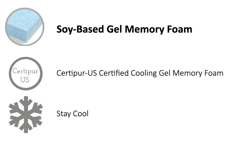 Cooling Gel Memory Foam