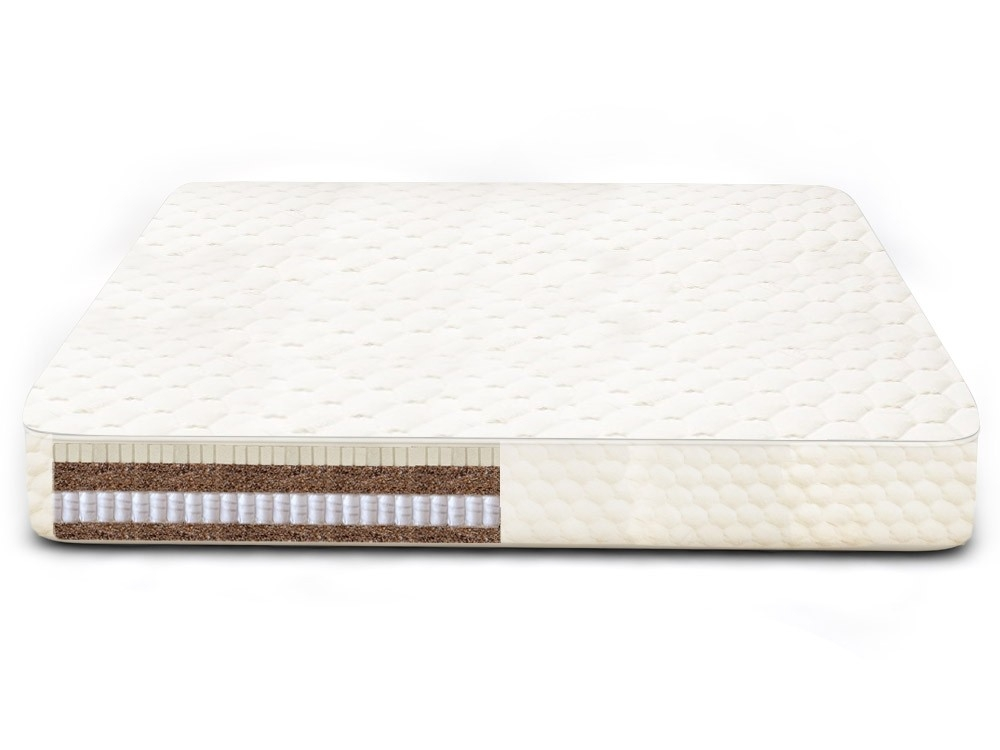 Zen Ultimate Coconut Mattress with Latex and Pocketed Microcoils Firm