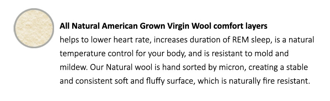 Wool Topper