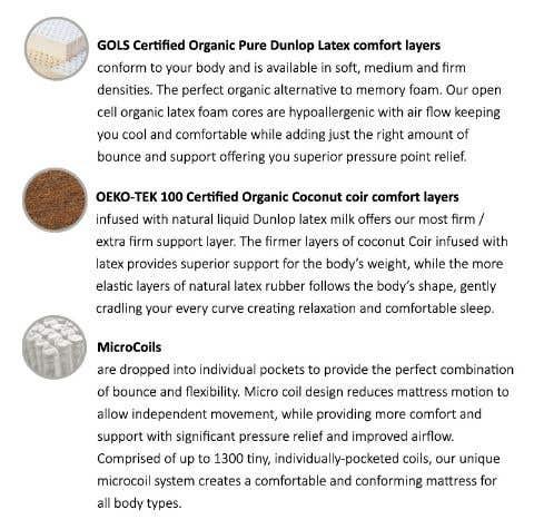 Zen Coconut Latex Mattress