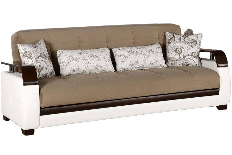 Contemporary Sofa Beds Dogal Light Brown Sofabed