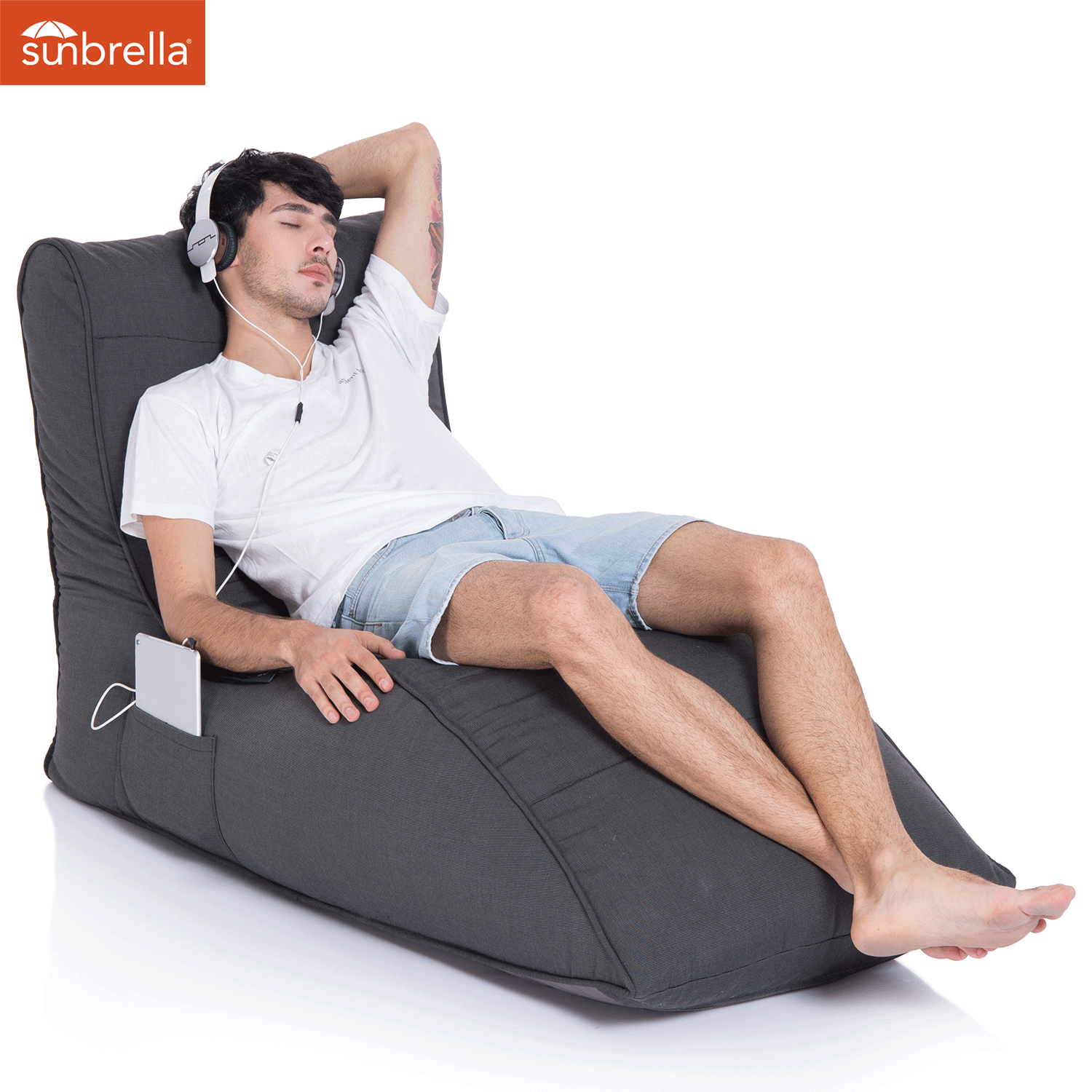 Bean Bag Chairs Made with Washable Microfiber Covers
