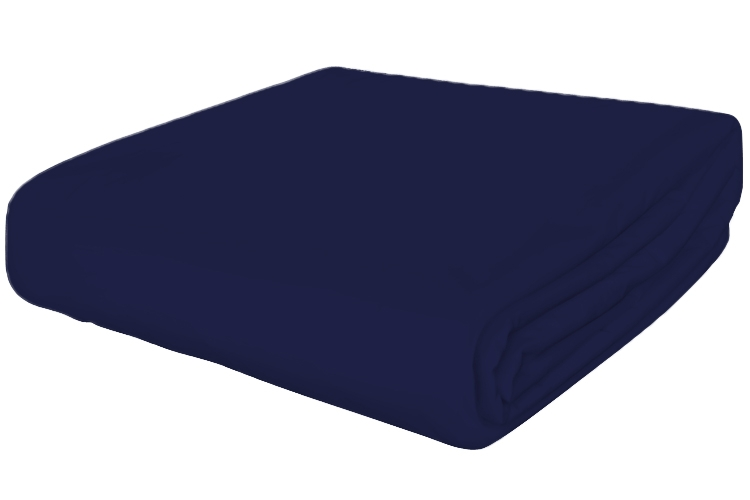 Navy Futon Slipcover Organic Cotton