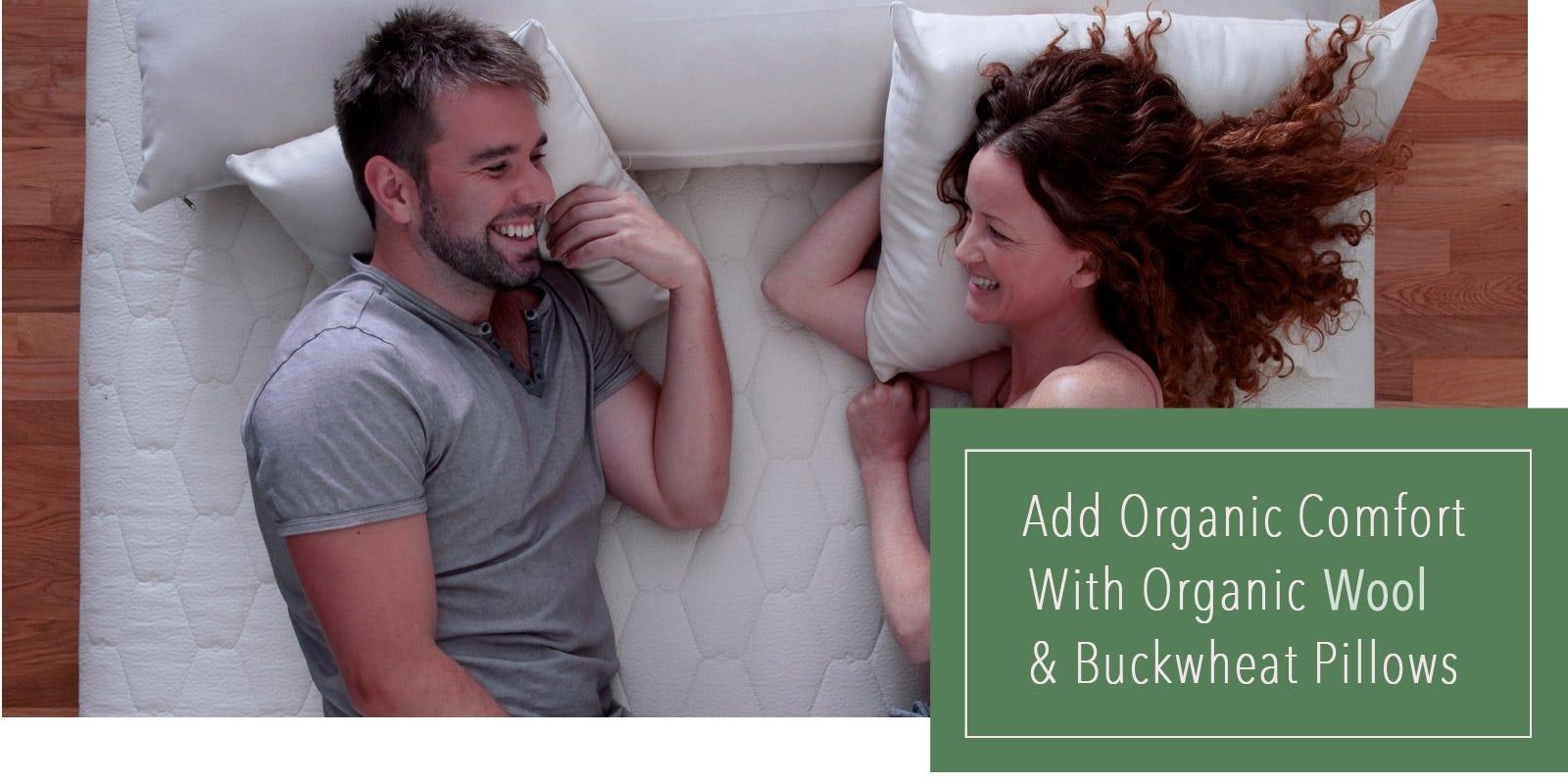 Organic Buckwheat & Wool Pillow
