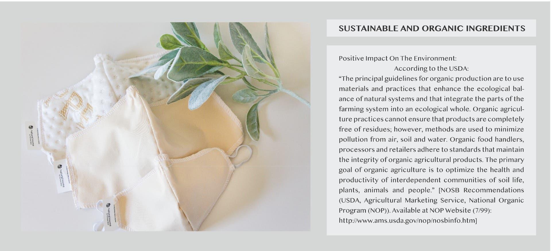 Sustainable Face Mask Zero waste