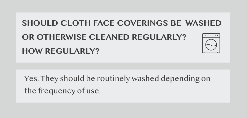 how to wash face mask