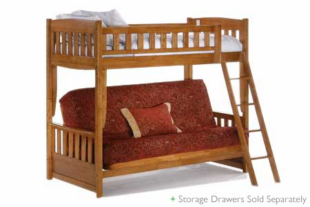 Cinnamon Bunk Bed Set