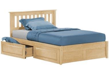 Rosemary Platform Bed Set