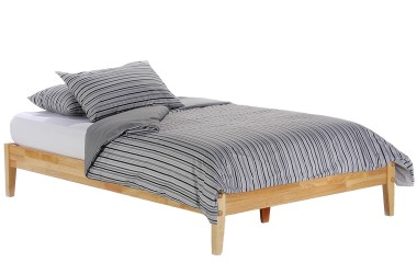 Simple Platform Bed Set