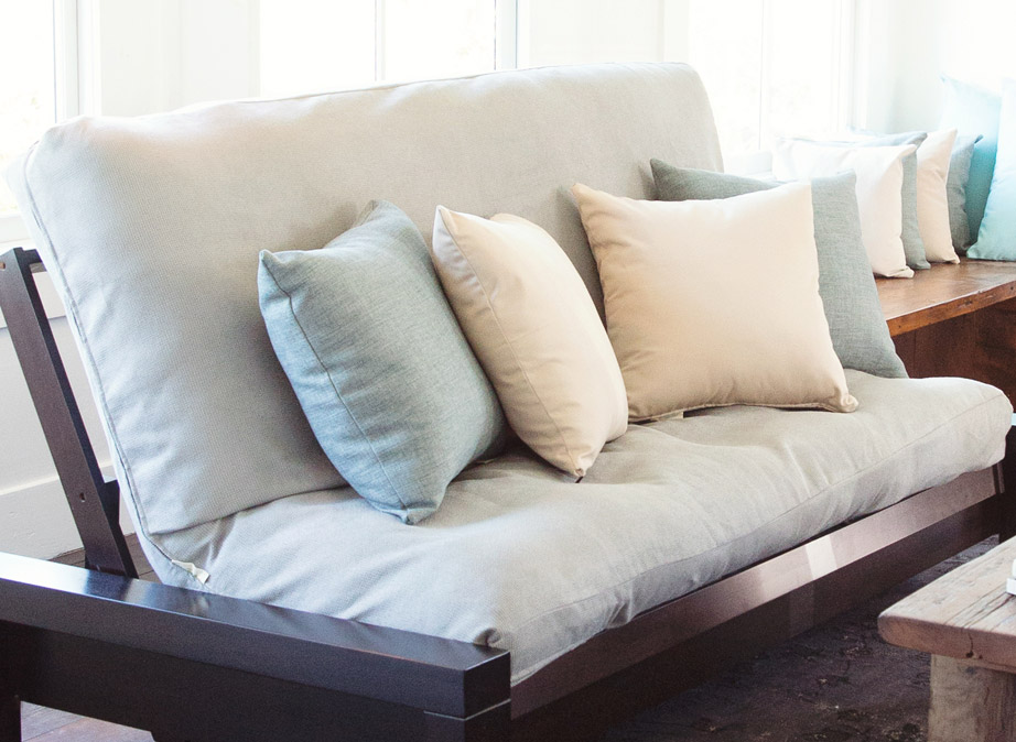 Affordable Washable Solid Futon Covers