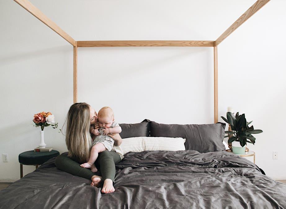 Natural Platform Beds Bed