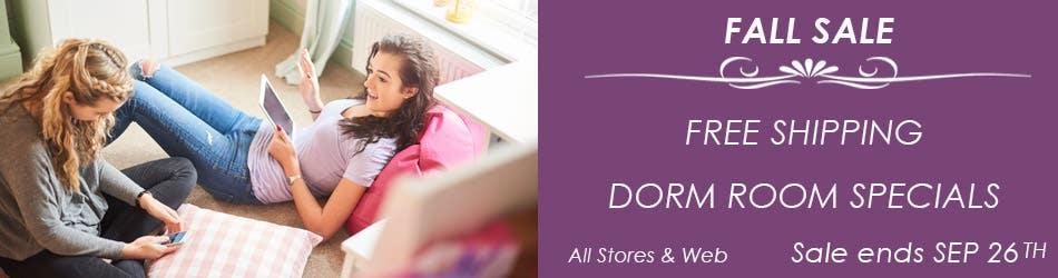Dorm Room Specials Free Shipping