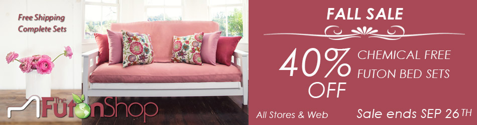 Get Free Shipping When You Build A Set With The Futon Shop!