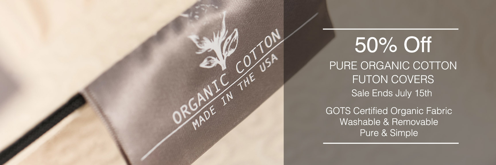Organic Cotton Futon Covers