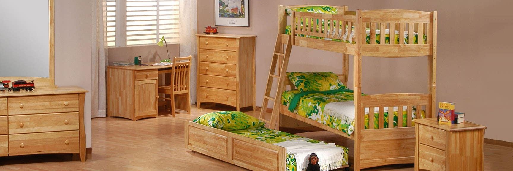 Kids Bunk Beds Futon Bunk Bed Wood Loft Beds The Futon Shop