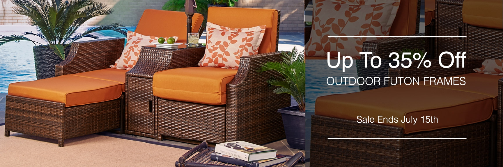 Lovely Outdoor Futon Frames