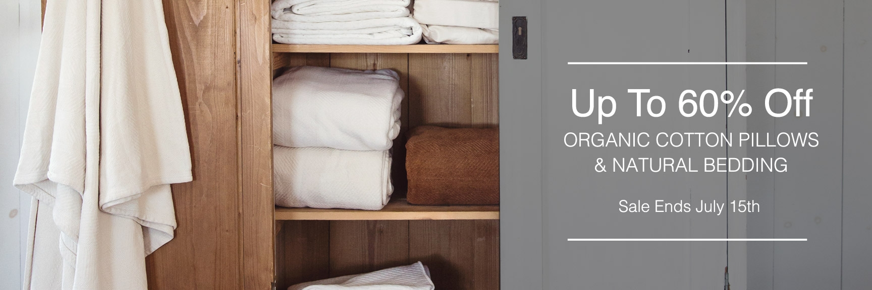 Natural & Chemical Free Bed Pillows
