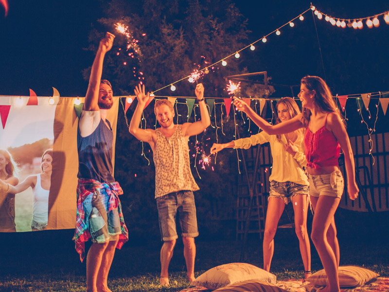 5 Tips For An Amazing Outdoor 4th of July Party