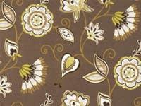 Modern_Floral_Print_Avignon_Tobacco_Futon_Cover