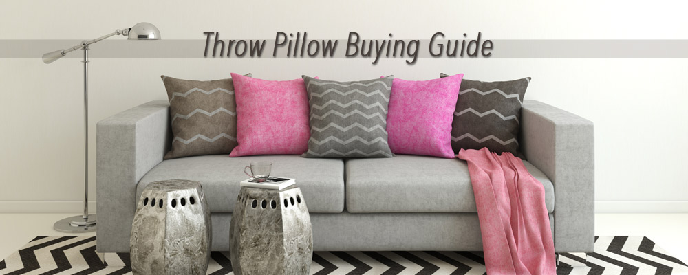 Throw pillow buying guide