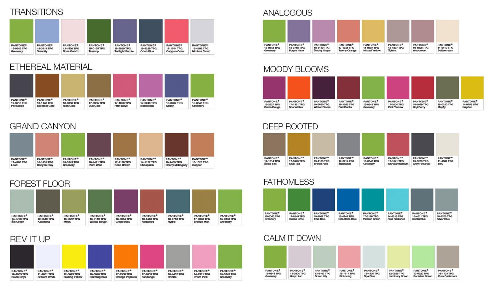 Pantone Color pairing