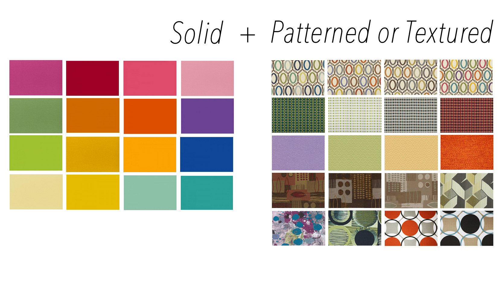Color swatch for Futon covers and matching pillows