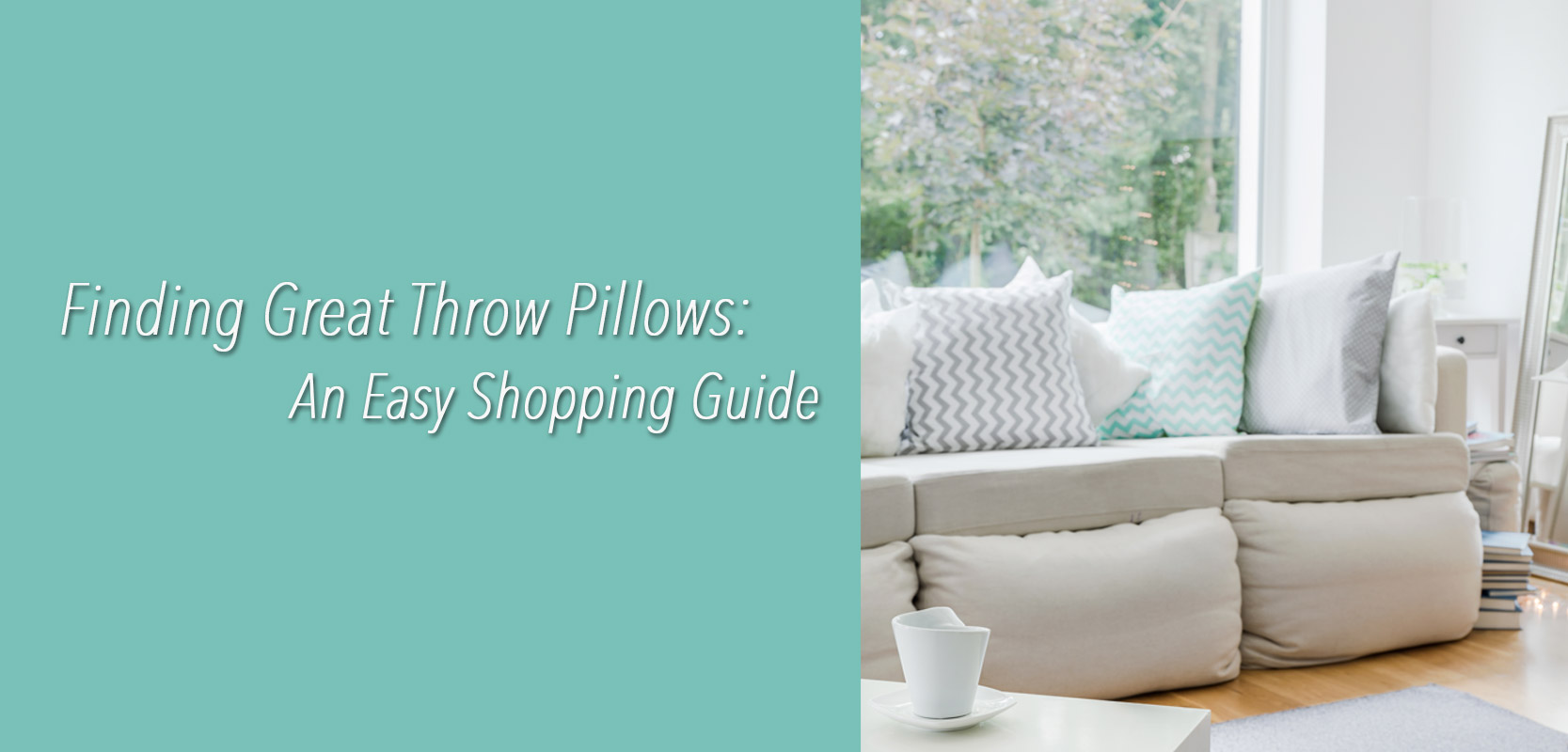 A Simple Throw Pillow Shopping Guide