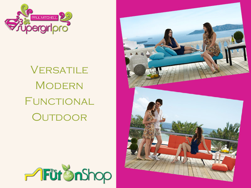 outdoor futon frame
