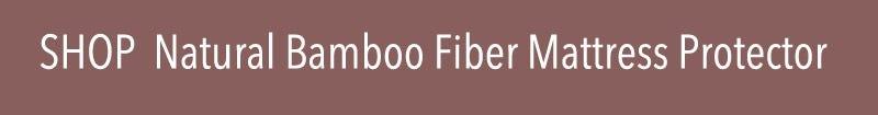 Natural Bamboo Fiber Mattress Protector