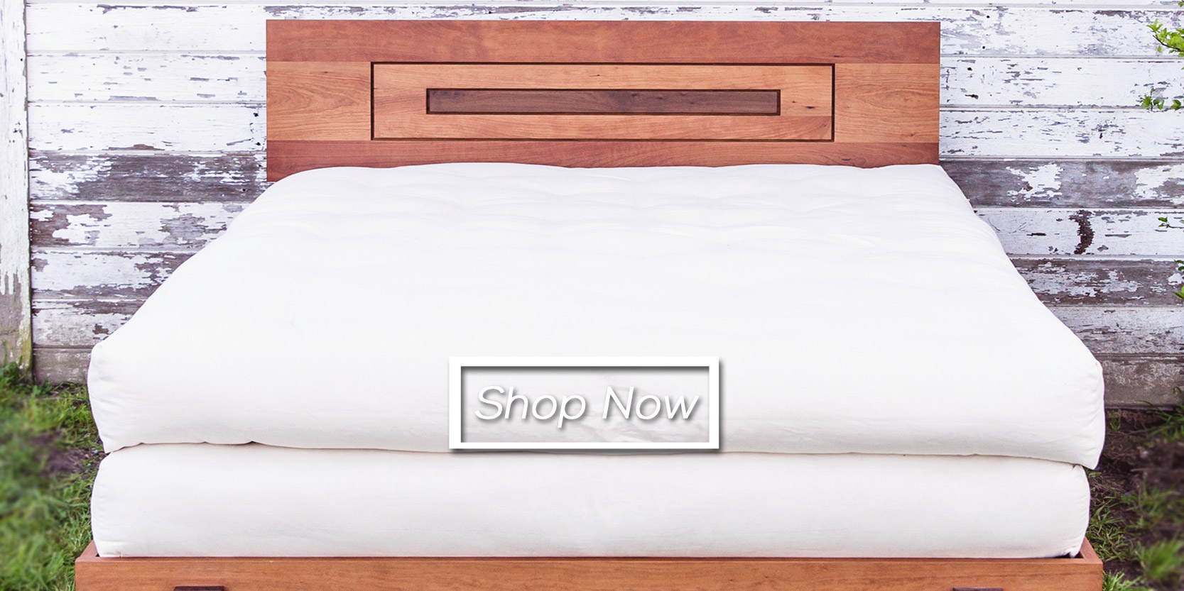 Chemical free mattress toppers