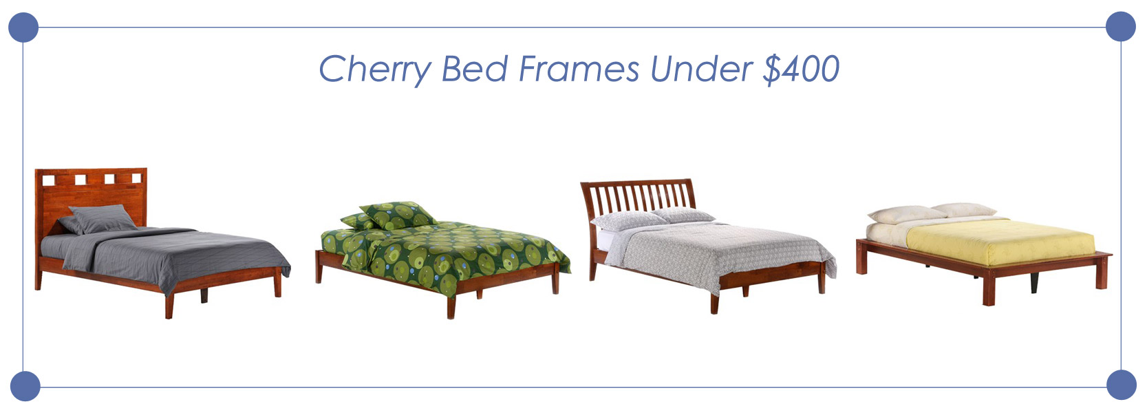 Cherry bed frames