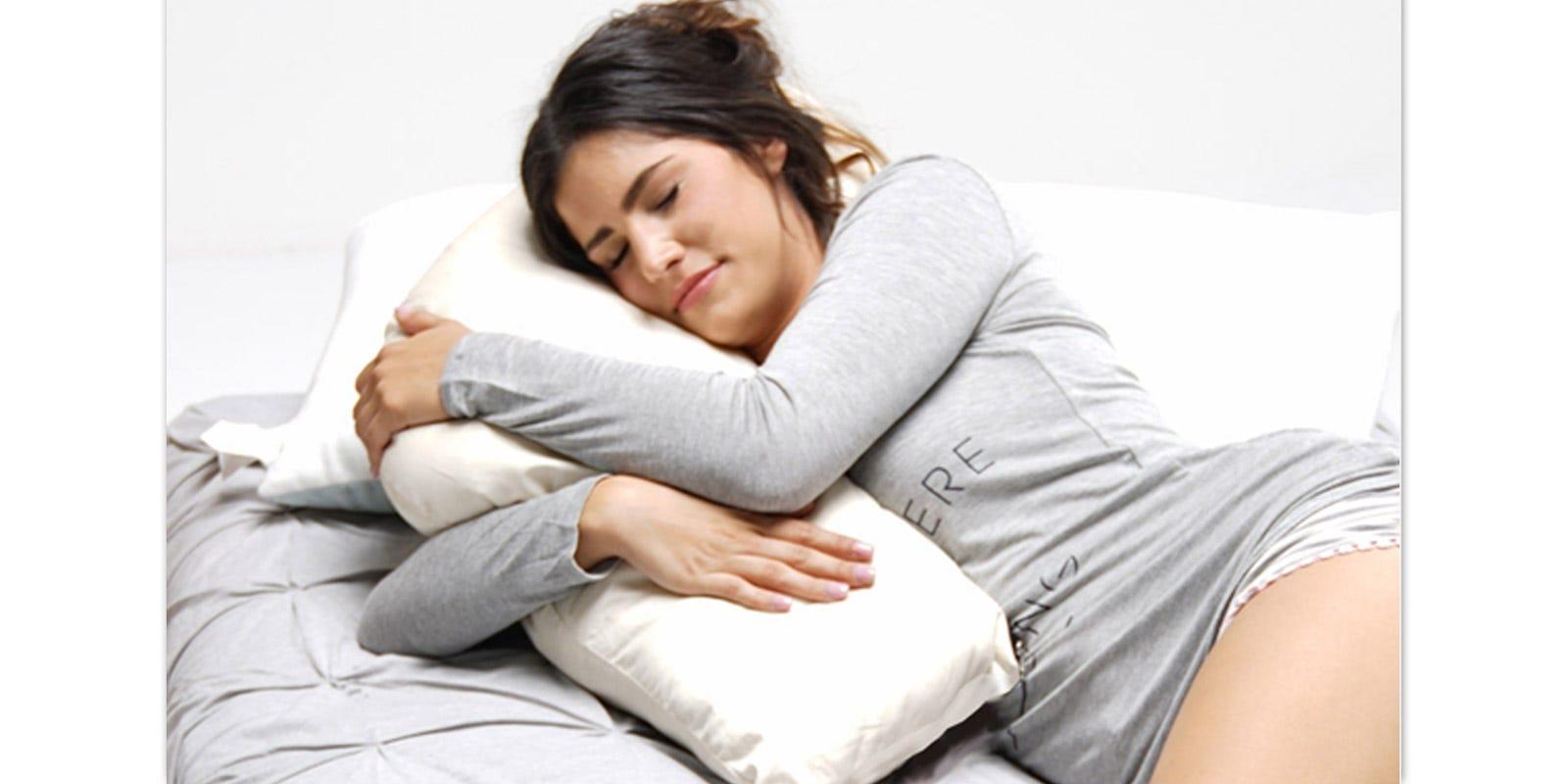 Organic Cotton Side Pillow