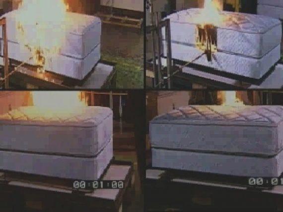 Flammability testing